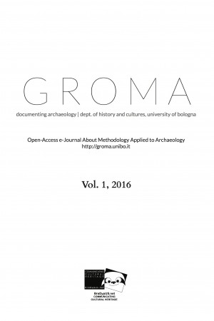 Groma. Documenting Archaeology. Vol 1-2016